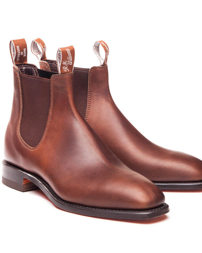 R.M. Williams Brown Lachlan Vesta Leather | Davids Of Haslemere
