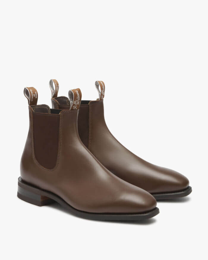 R.M. Williams Chestnut Comfort Craftsman Boot Yearling LeatherR.M. Williams Chestnut Comfort Craftsman Boot Yearling Leather | Davids Of Haslemere