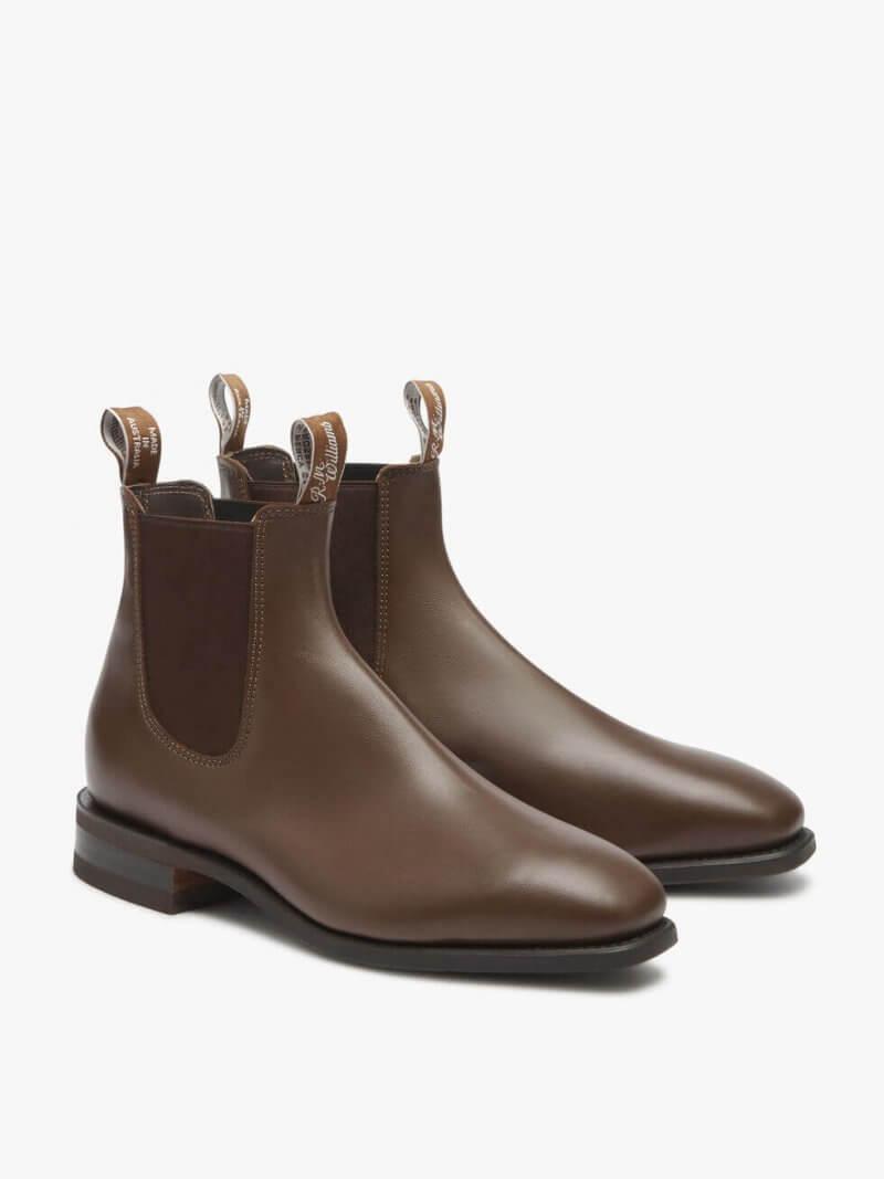 R.M. Williams Chestnut Comfort Craftsman Boot Yearling LeatherR.M. Williams Chestnut Comfort Craftsman Boot Yearling Leather | Davids Of Haslemere