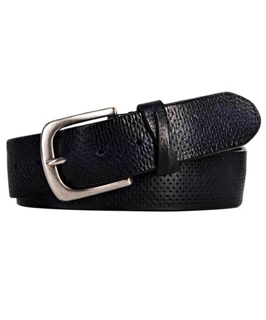 Profuomo Perforated Leather Belt