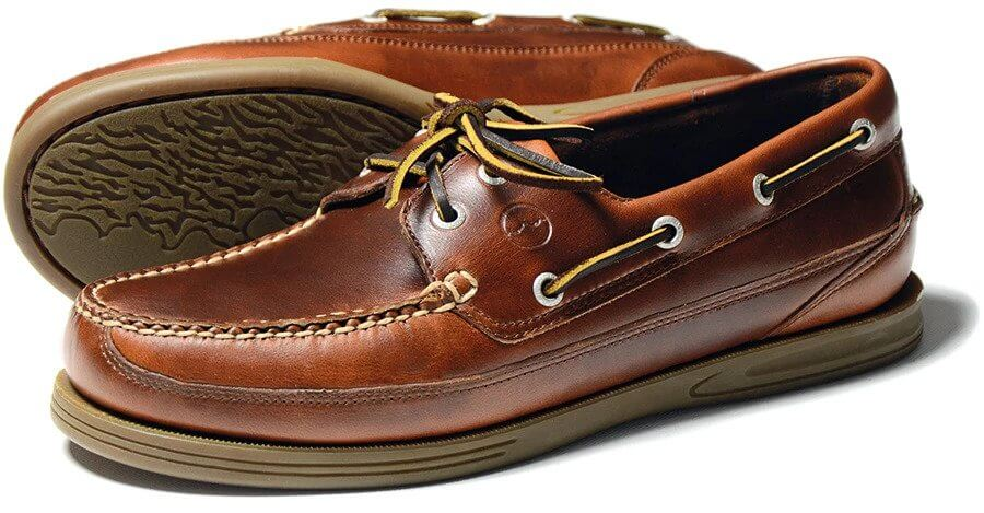 Fowey Deck Shoe Col Saddle | Davids Of Haslemere