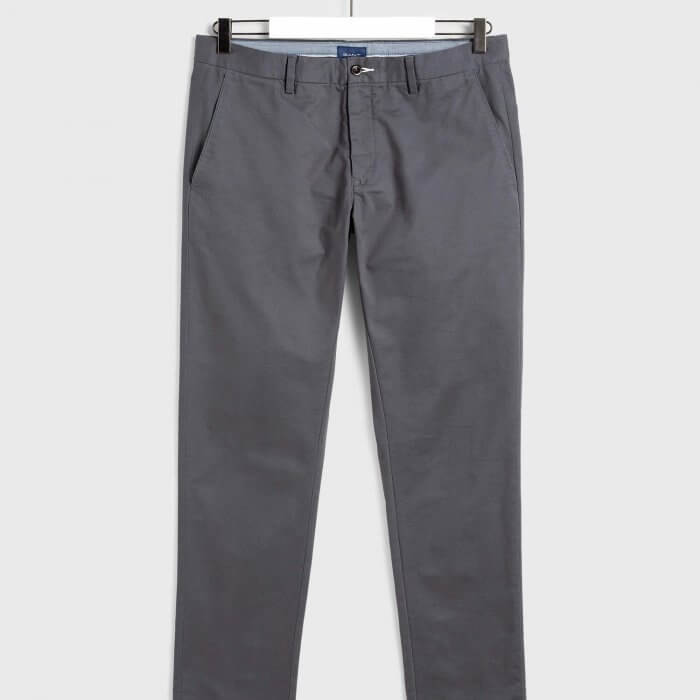 Gant Grey Chino | Davids Of Haslemere