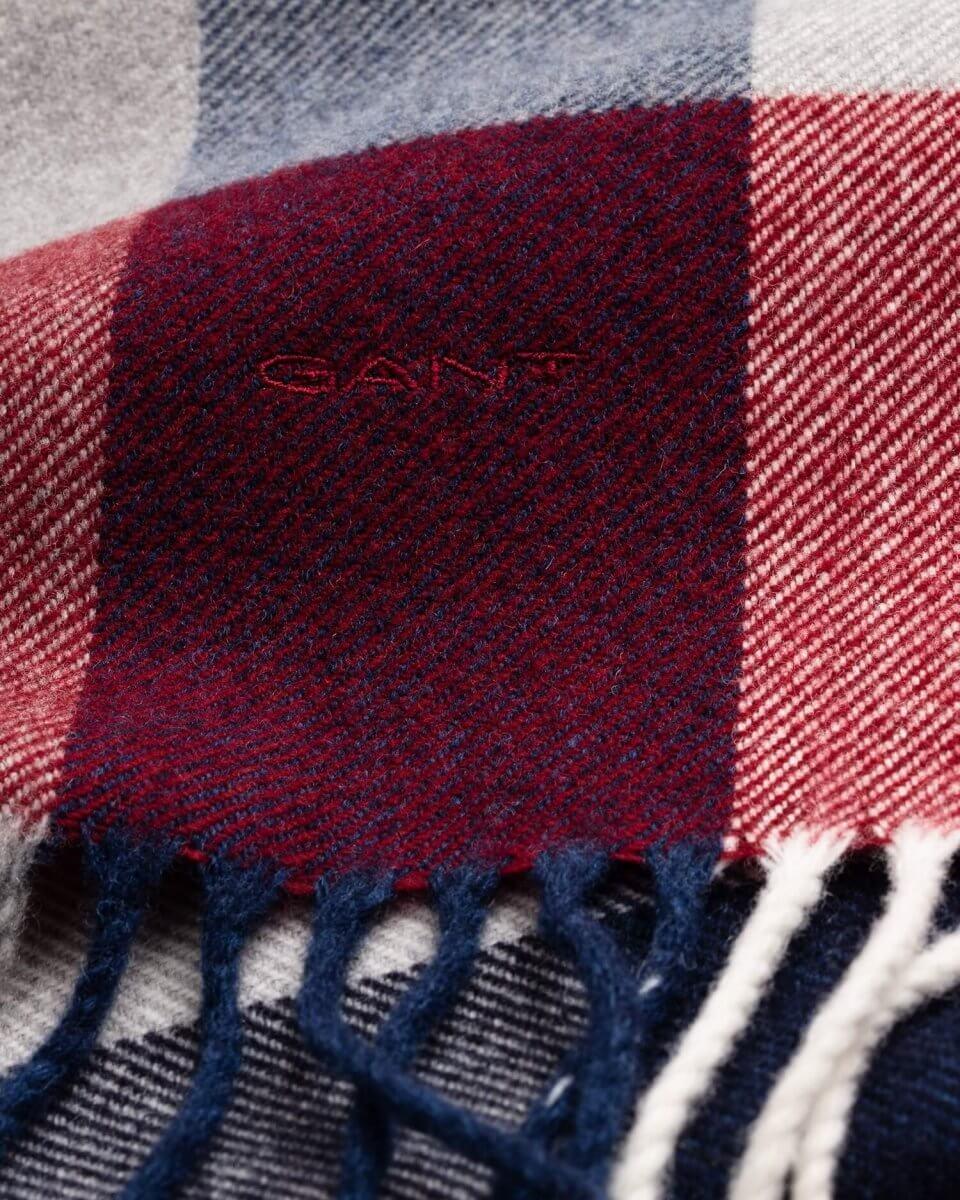 Gant Patterned Scarf | Davids Of Haslemere