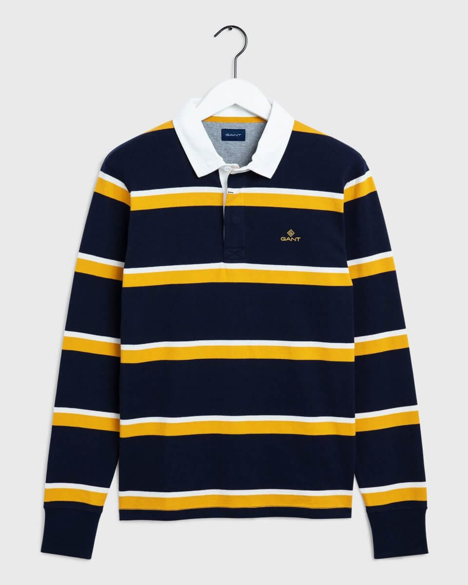 Gant Heavy Rugby Polo Shirt | Davids Of Haslemere