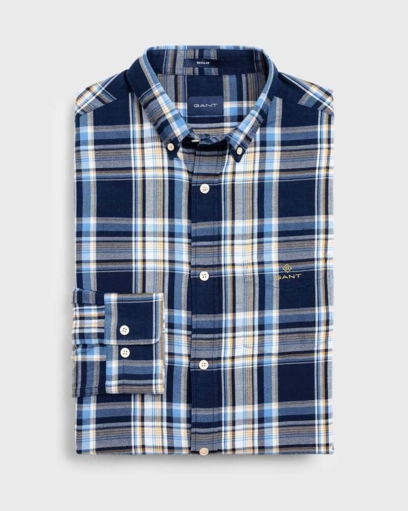 Gant Check Patterned Shirt | Davids Of Haslemere