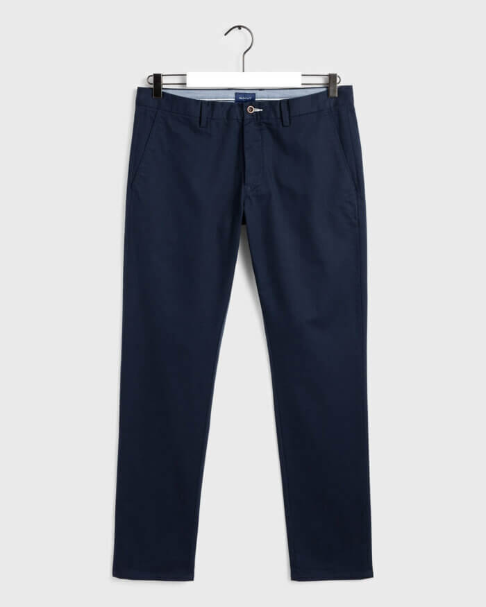 Gant Navy Chino | Davids Of Haslemere