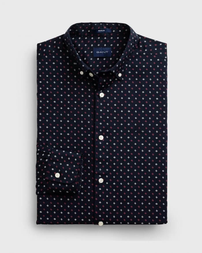 Gant Polka Dot Shirt | Davids Of Haslemere