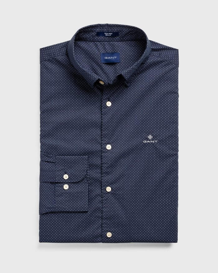 Gant Micro Dot Shirt | Davids Of Haslemere