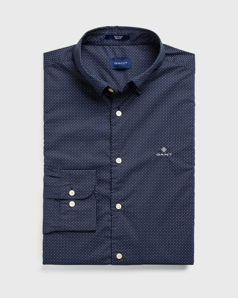 Gant Micro Dot Shirt | Davids Of Haslemere
