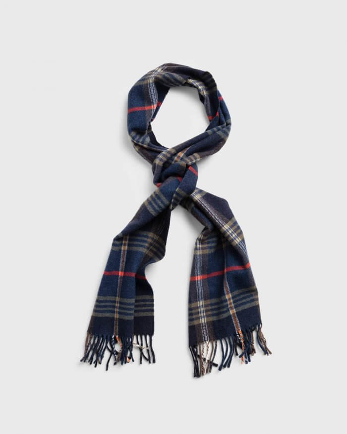 Gant Check Scarf | Davids Of Haslemere