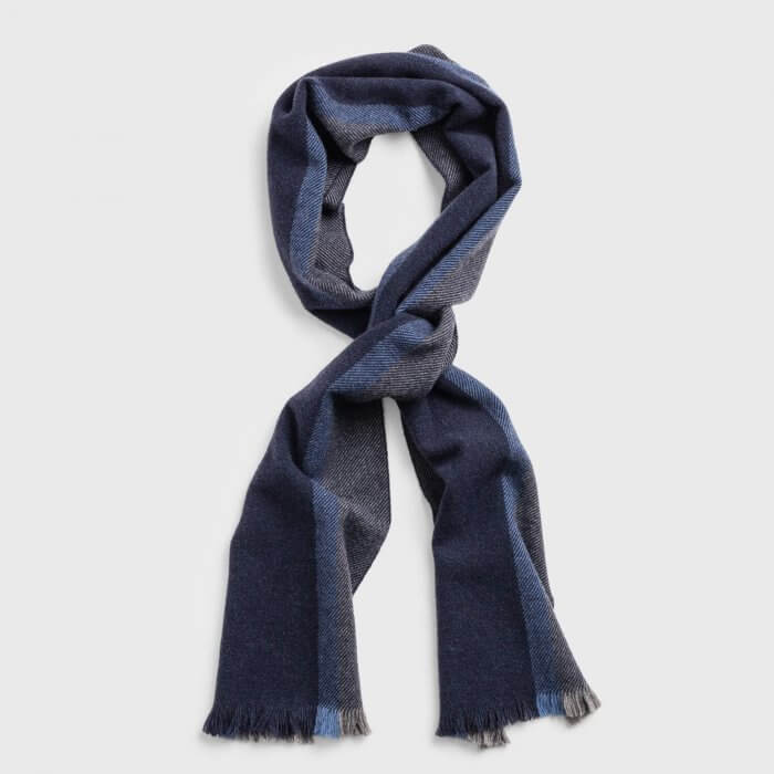 Gant Patterned Scarf | Davids Of Haslemere