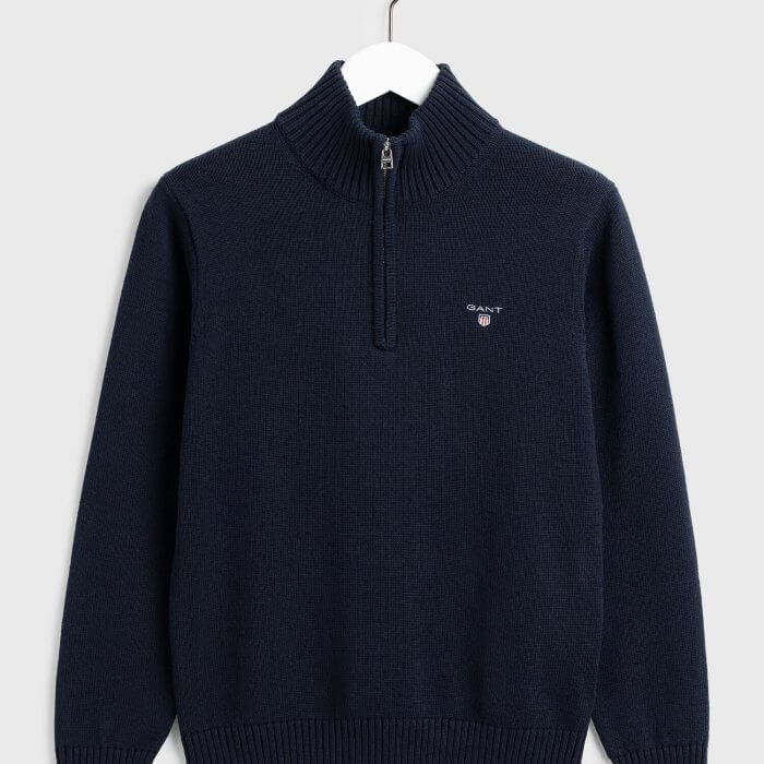 Gant Half-Zip Sweater | Davids Of Haslemere