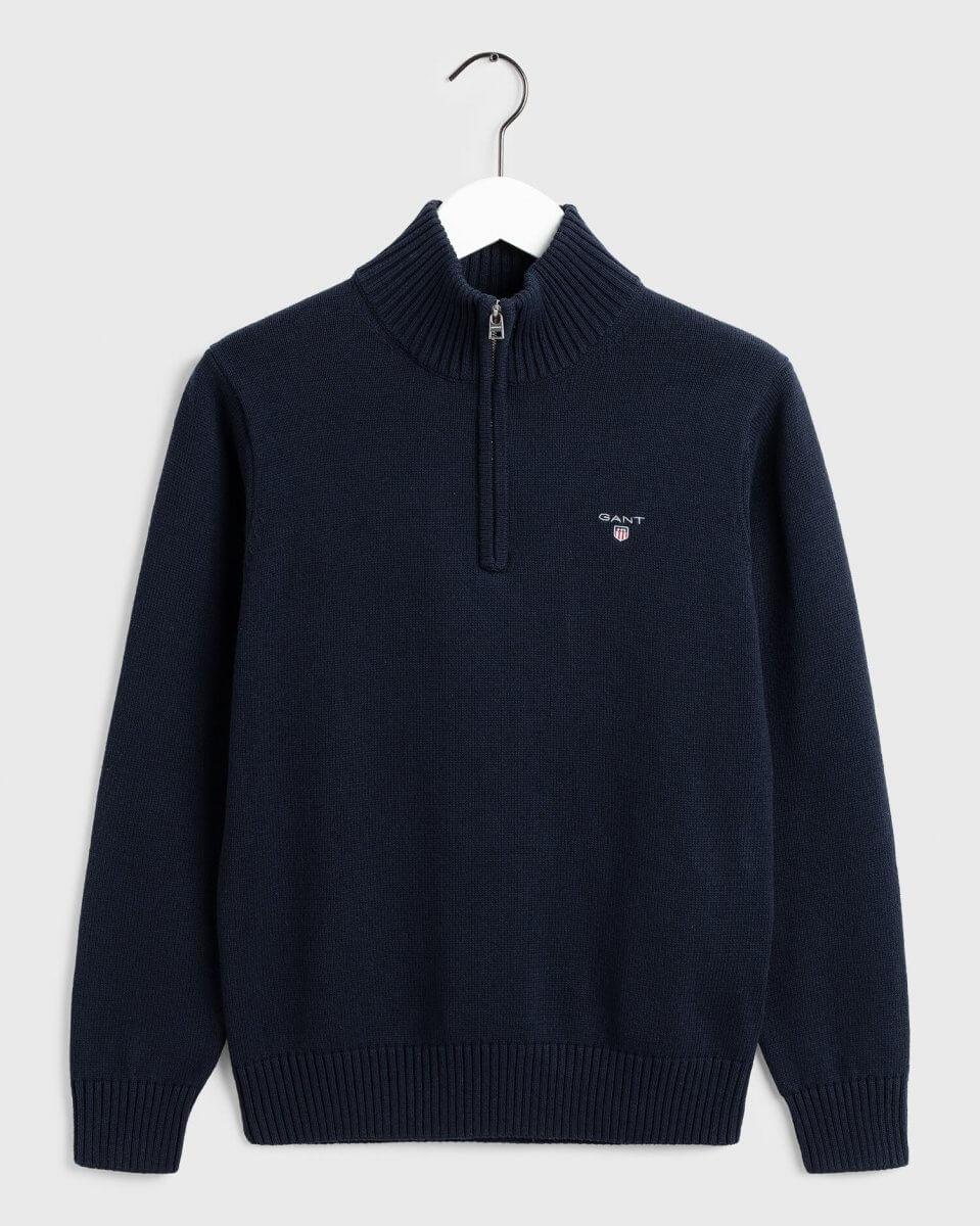 Gant Half-Zip Sweater   Davids Of Haslemere