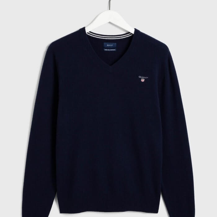 Gant V Neck Sweater | Davids Of Haslemere