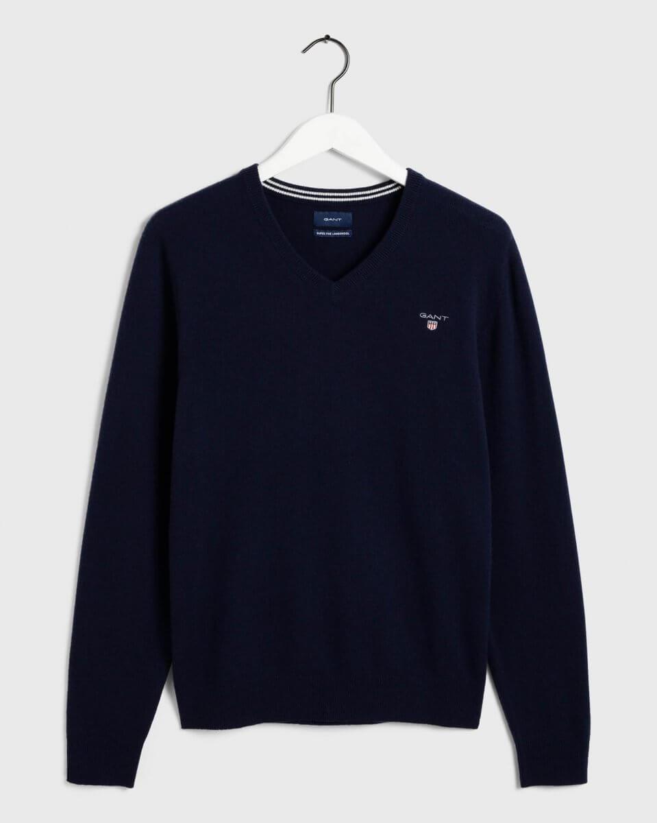Gant V Neck Sweater | Davids Of Haslemere