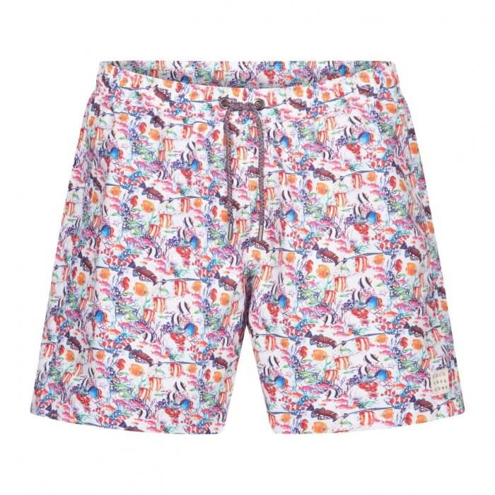 Colours & Sons Animal Print Swim Shorts | Davids Of Haslemere