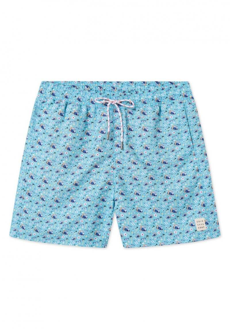 Colours & Sons Surfboard Swim Shorts | Davids Of Haslemere