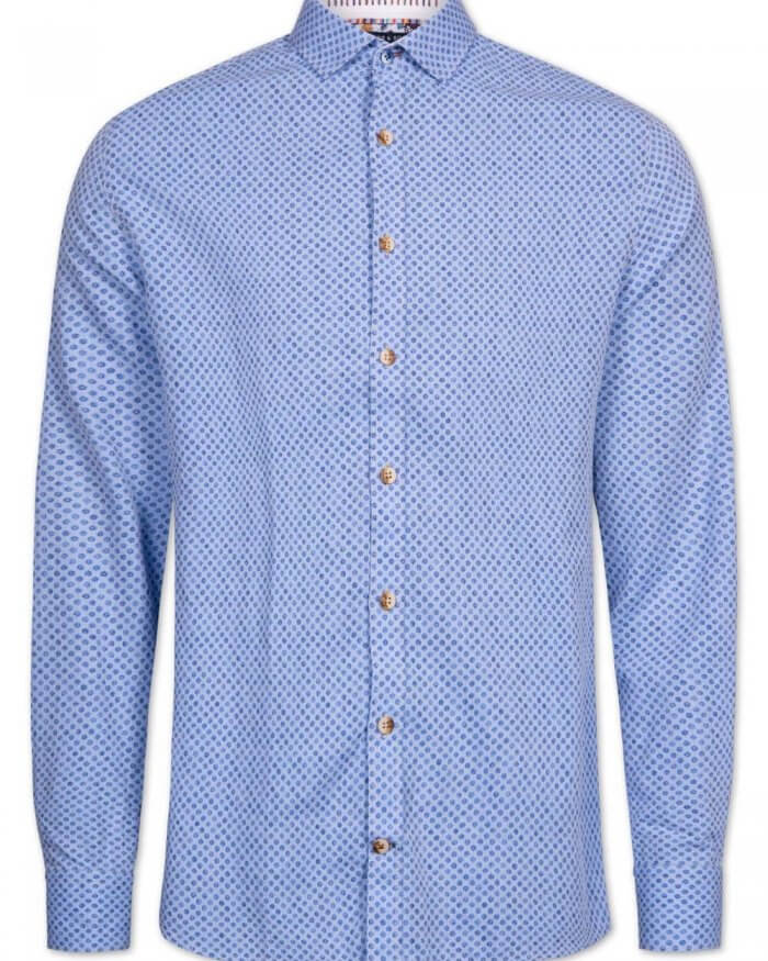 Colours & Sons Herringbone Shirt | Davids Of Haslemere