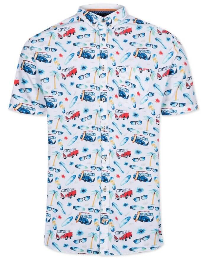 Colours & Sons Surf Bus Shirt | Davids Of Haslemere