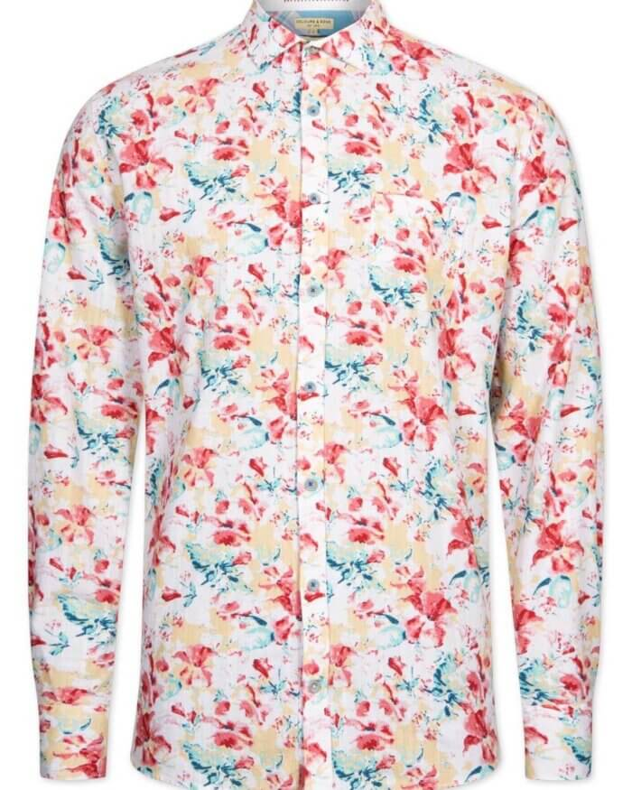 Colour & Sons Flower Shirt | Davids Of Haslemere