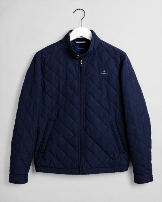Gant Quilted Windcheater | Davids Of Haslemere