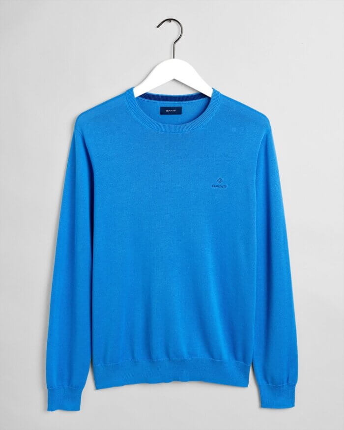 Gant Shetland Crew Sweater | Davids Of Haslemere