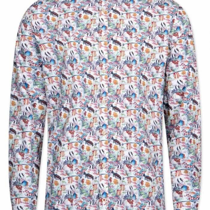 Colours & Sons Animal Print Shirt | Davids Of Haslemere