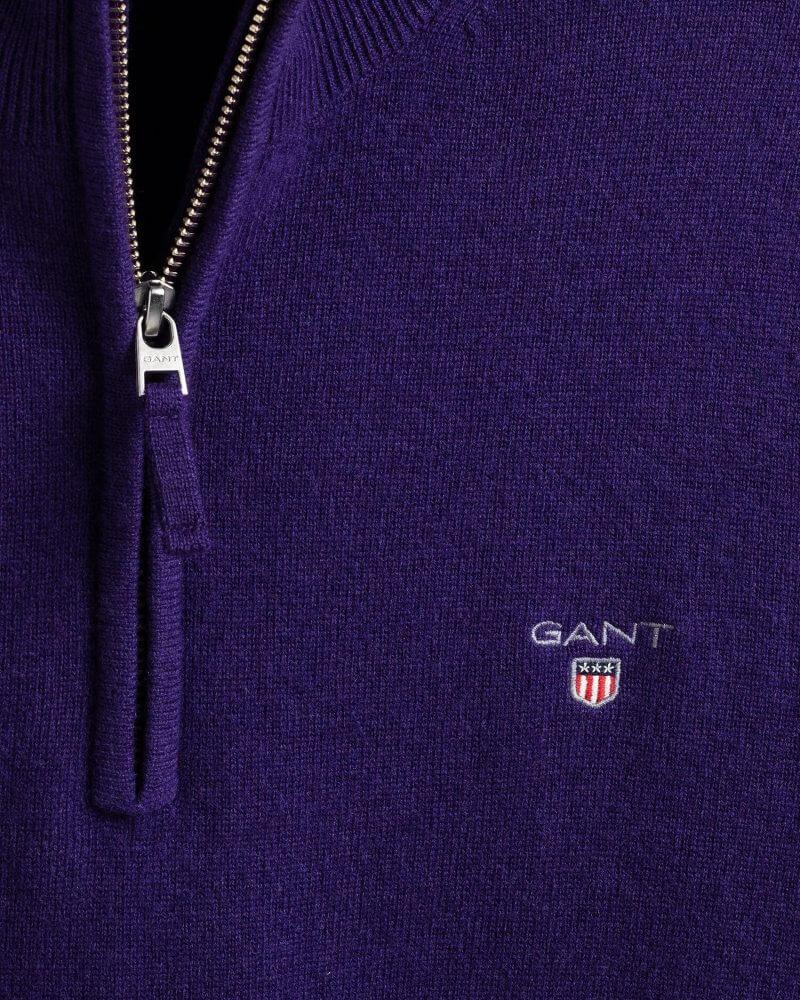 GANT Lambswool Half-Zip Sweater | Davids Of Haslemere
