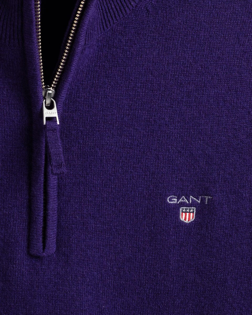 GANT Lambswool Half-Zip Sweater | Davids Of Haslemere