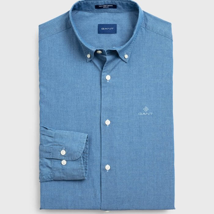 Gant Long-Sleeve Shirt | Davids Of Haslemere