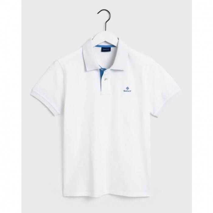 Gant Eggshell Polo Shirt | Davids Of Haslemere