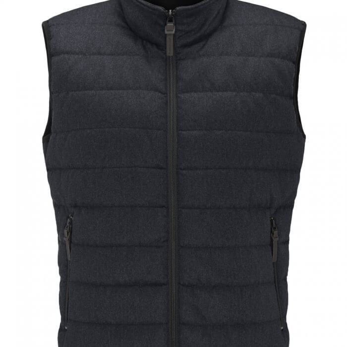 Fynch Hatton Hybrid Vest Navy | Davids Of Haslemere