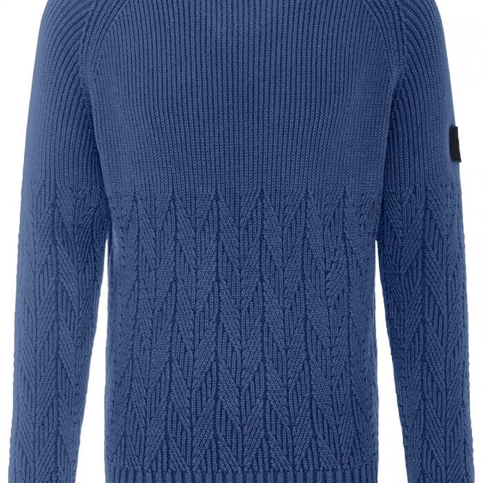 ynch Hatton O Neck Cotton Jumper | Davids Of Haslemere