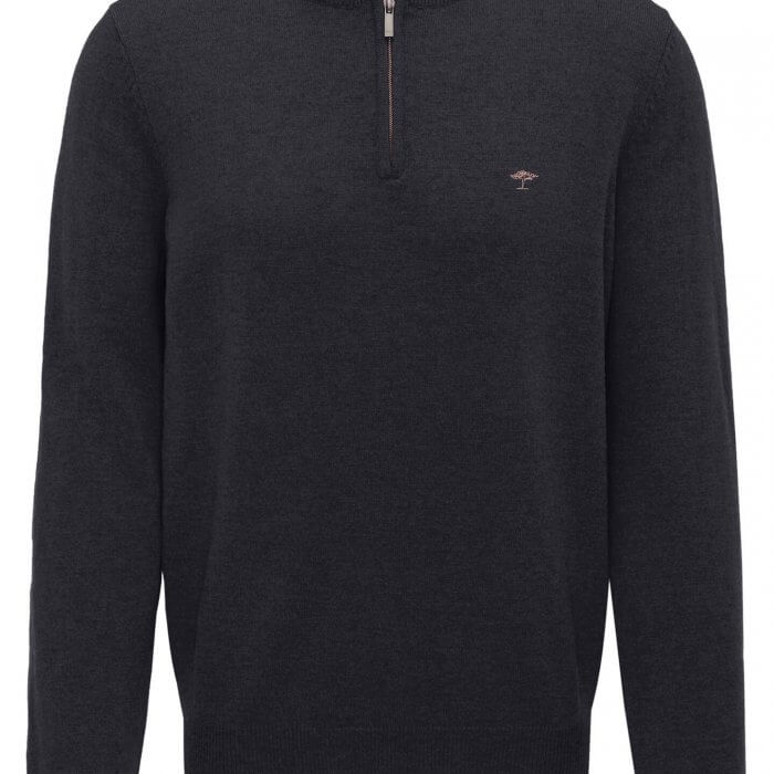 Fynch Hatton Half Zip Jumper | Davids Of Haslemere