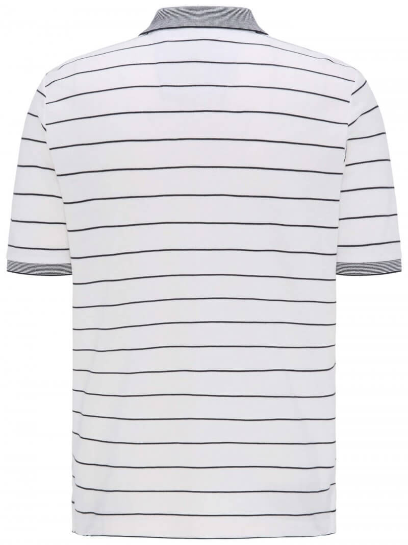 Fynch Hatton Cotton Stripe Polo Shirt | Davids Of Haslemere