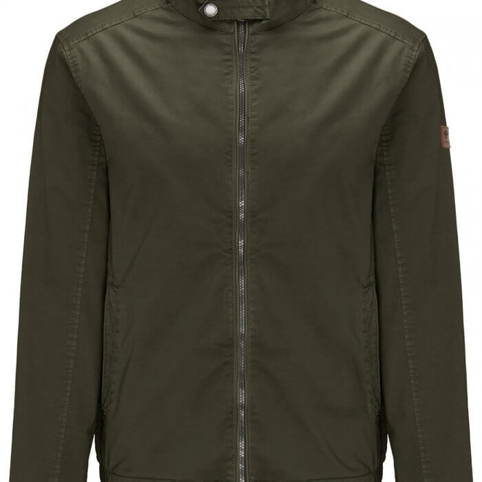 Fynch Hatton Cotton Bomber Jacket | Davids Of Haslemere