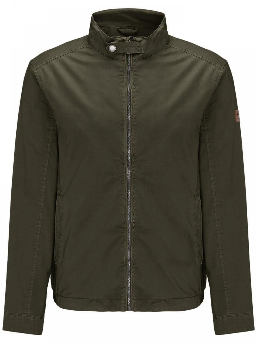 Fynch Hatton Cotton Bomber Jacket | Davids Of Haslemere