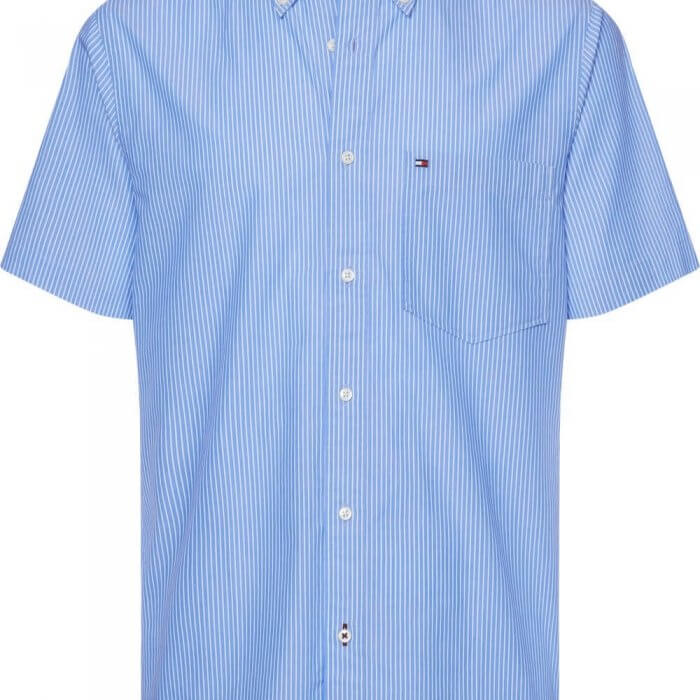 Tommy Hilfiger Stripe Shirt | Davids Of Haslemere