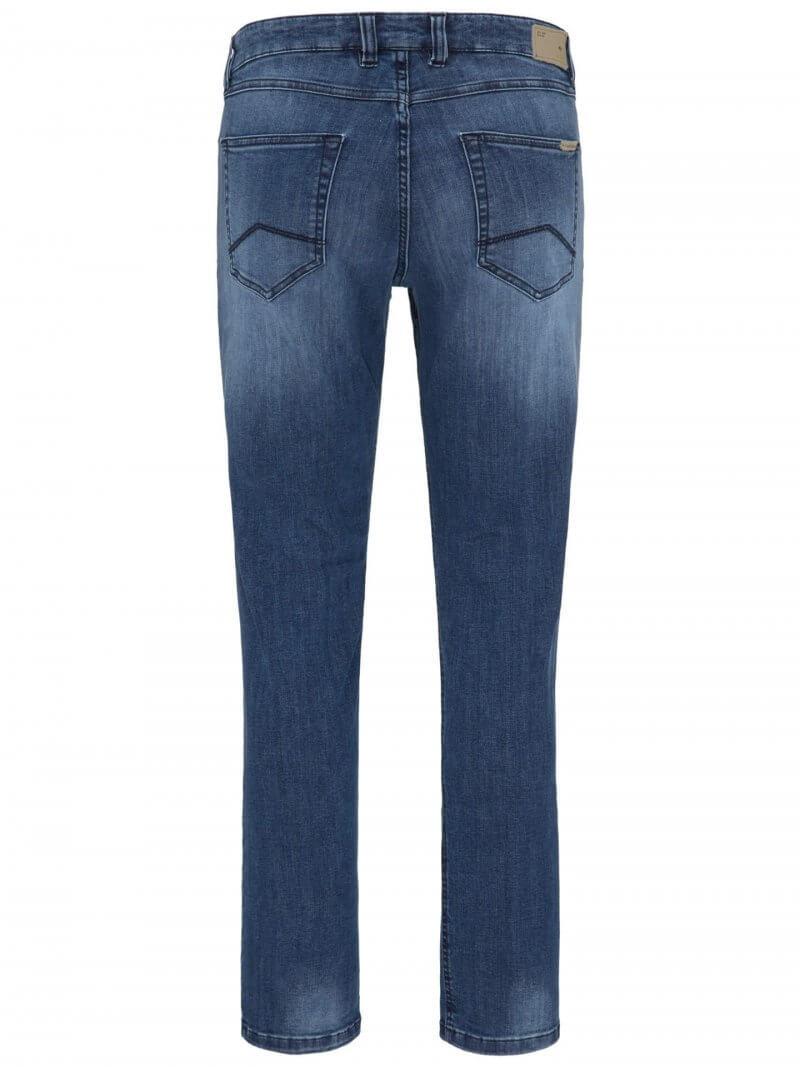Fynch Hatton Mombasa High Flex Mid Blue Jeans | Davids Of Haslemere