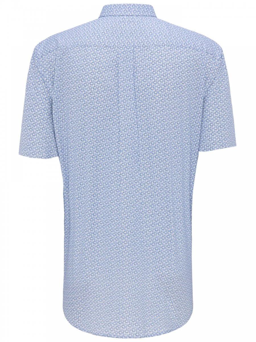 Fynch Hatton Short Sleeve Shirt | Davids Of Haslemere