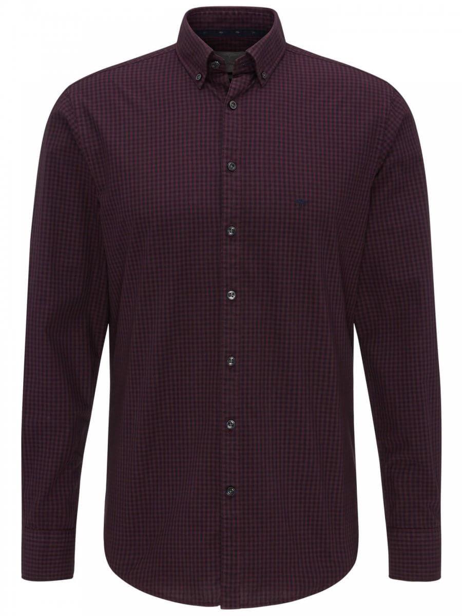 Fynch Hatton Check Shirt | Davids Of Haslemere