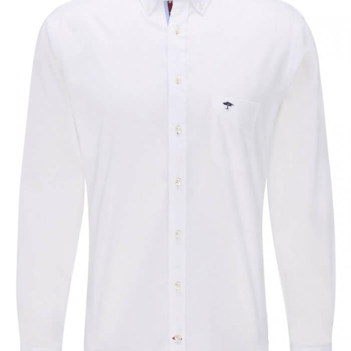 Fynch Hatton Maritime Shirt White | Davids Of Haslemere