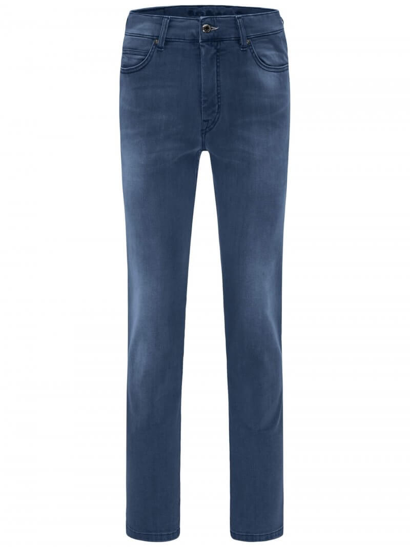 Fynch Hatton Mombasa Mid Blue Jeans | Davids Of Haslemere