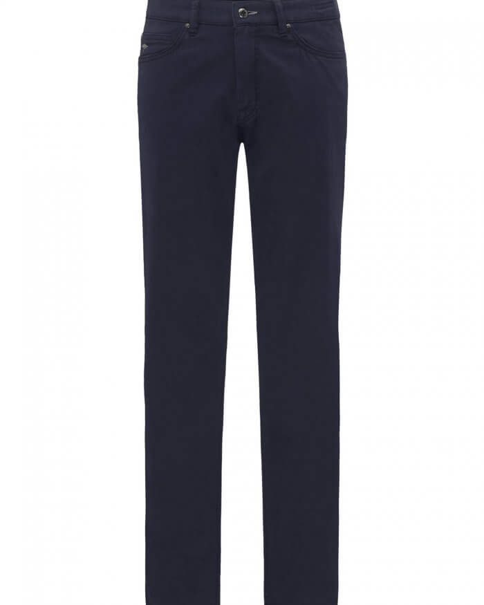 Fynch Hatton Tansania Navy 5 Pocket Jeans | Davids Of Haslemere