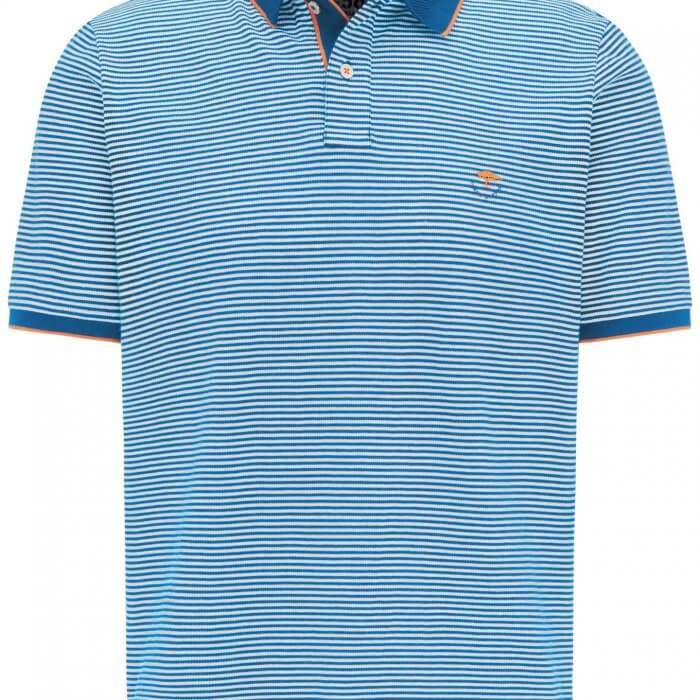 Fynch Hatton Striped Polo Shirt | Davids Of Haslemere
