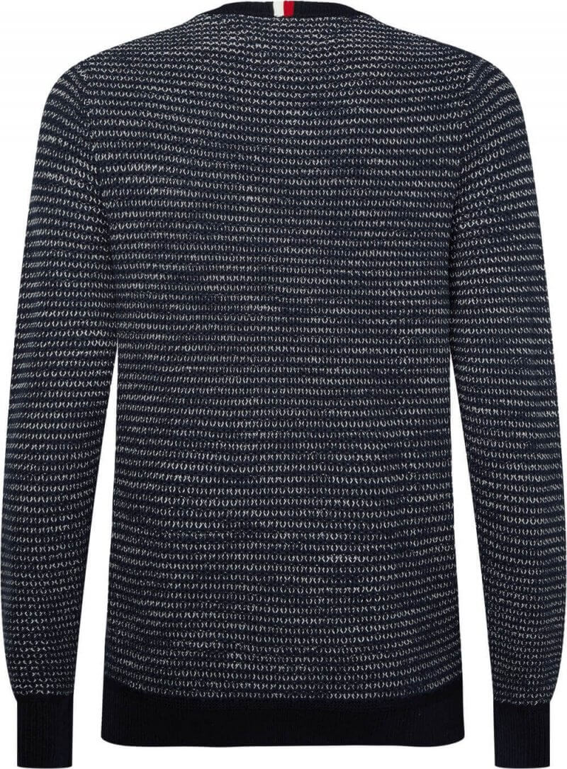 Tommy Hilfiger Pre Twisted Rib Detailed Sweater | Davids Of Haslemere