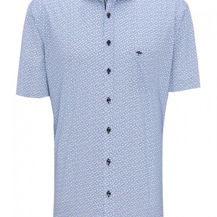 Fynch Hatton Short Sleeve Shirt | Davids Of Haslemere