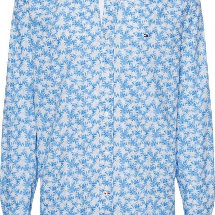 Tommy Hilfiger Palm Leaf Shirt | Davids Of Haslemere