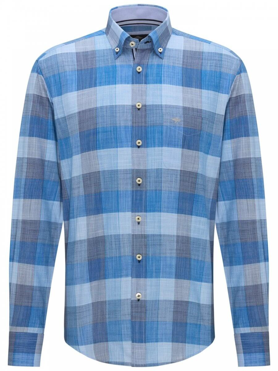 Fynch Hatton Big Check Shirt | Davids Of Haslemere