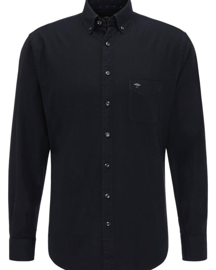 Fynch Hatton Garment Dyed Shirt | Davids Of Haslemere